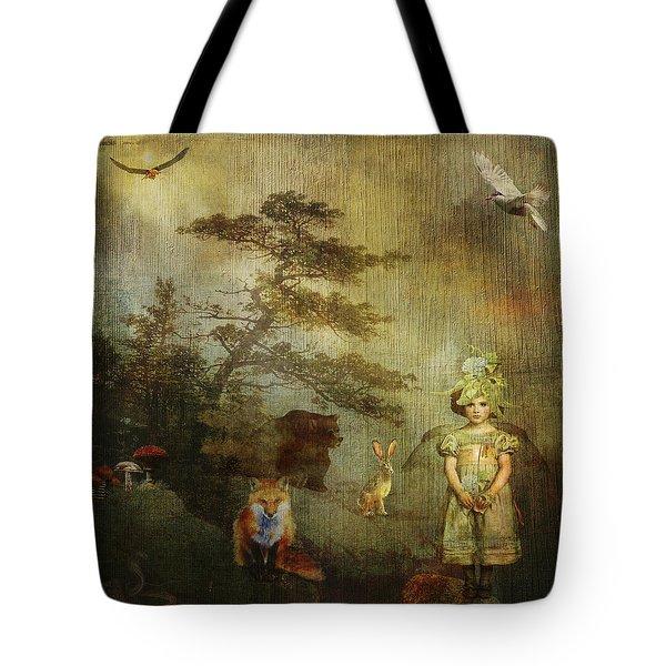Forest Wonderland Tote Bag by Diana Boyd