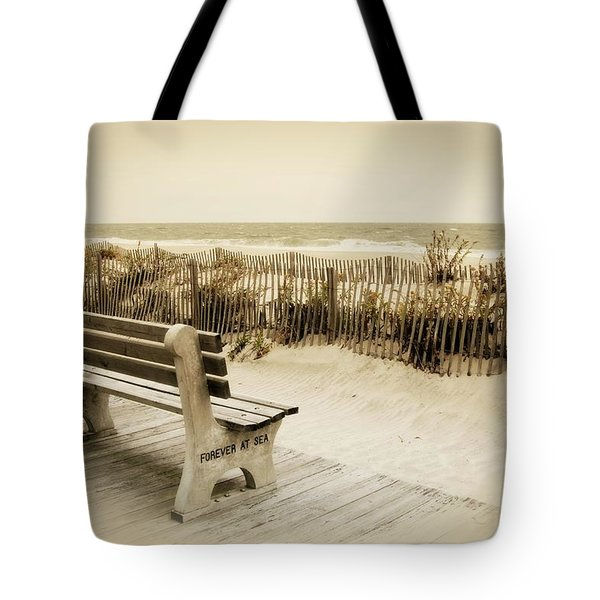Forever At Sea - Jersey Shore Tote Bag