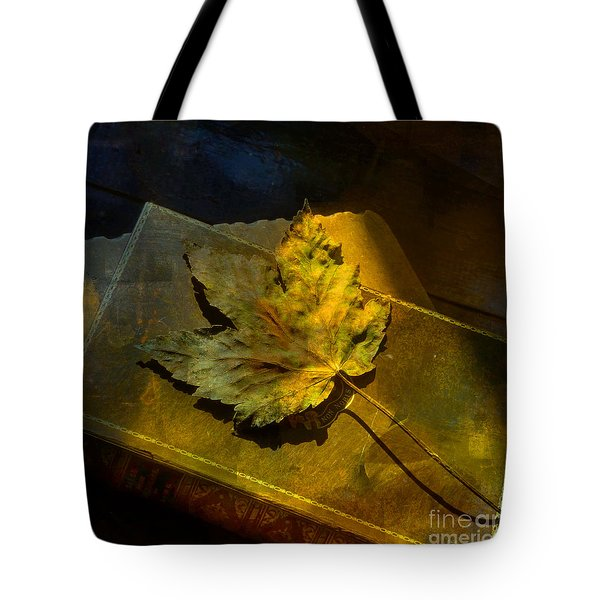 Tote Bag featuring the photograph Forever Autumn by LemonArt Photography