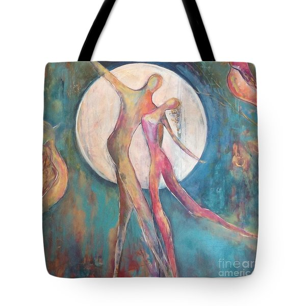 Forever Dance Tote Bag
