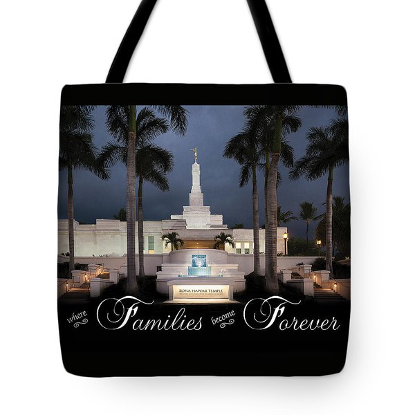Forever Families Tote Bag