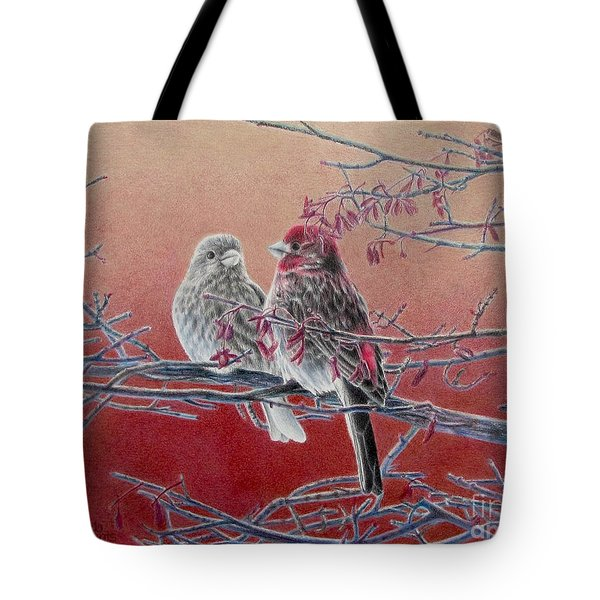 Forever Finch Tote Bag