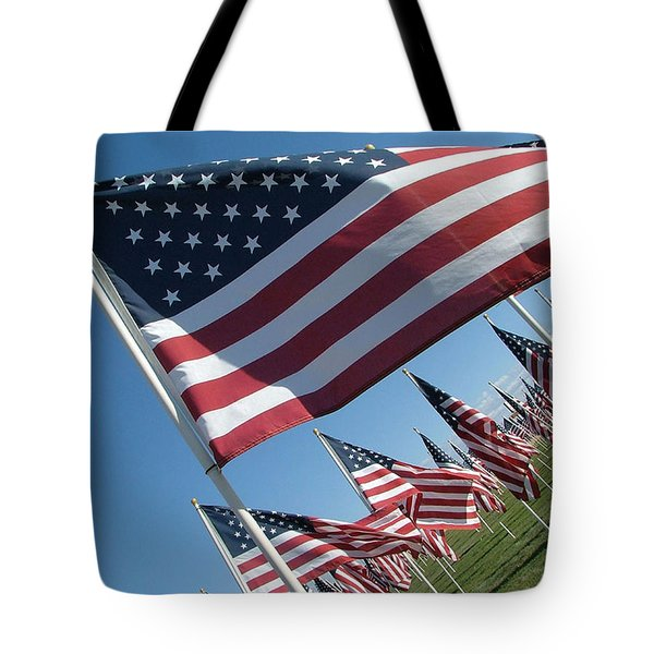 Forever Flags Tote Bag