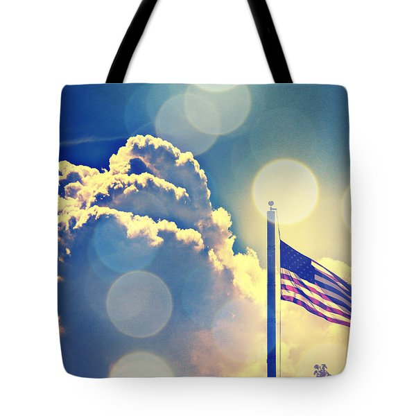 Tote Bag featuring the photograph Forever Freedom II by Aurelio Zucco