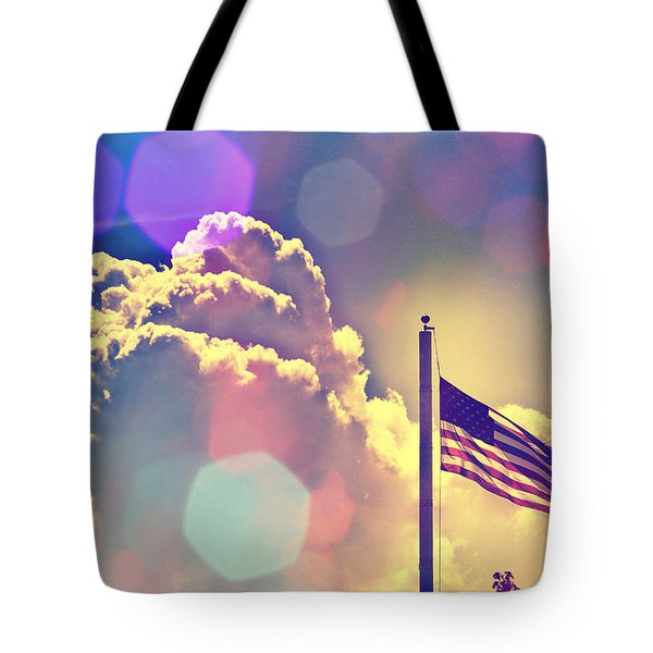 Forever Freedom Iv Tote Bag by Aurelio Zucco