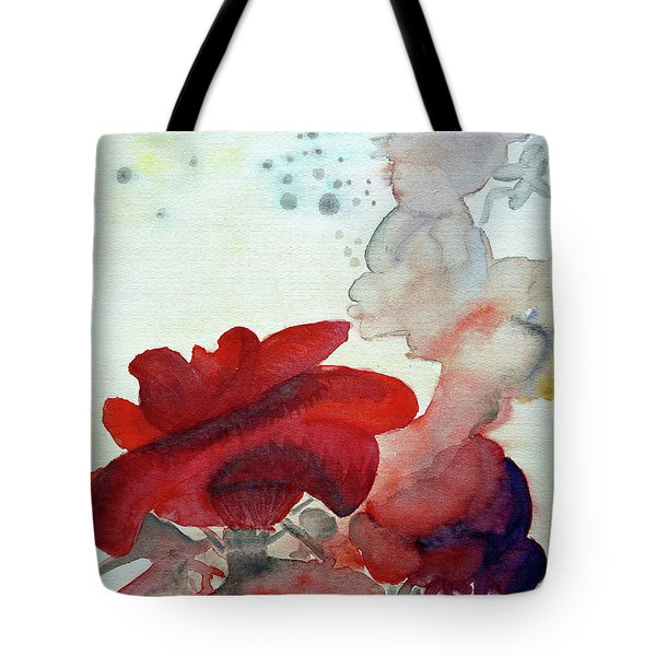 Tote Bag featuring the painting Forever by Jasna Dragun