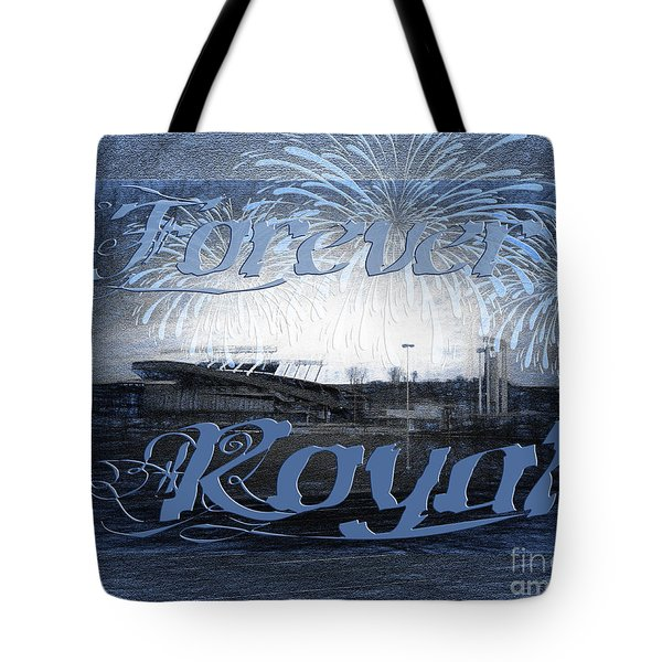 Forever Royal Tote Bag by Andee Design
