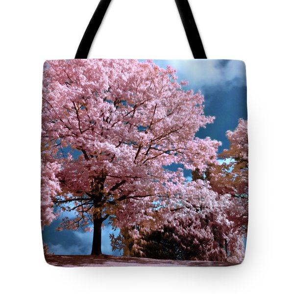 Tote Bag featuring the photograph Forever Spring by Helga Novelli