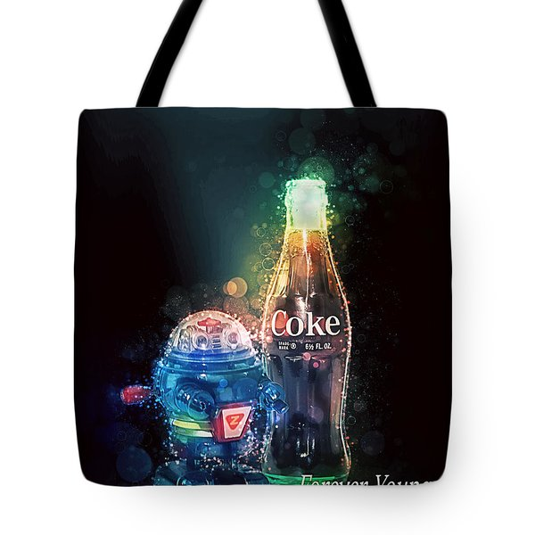 Forever Young Coca-cola Tote Bag
