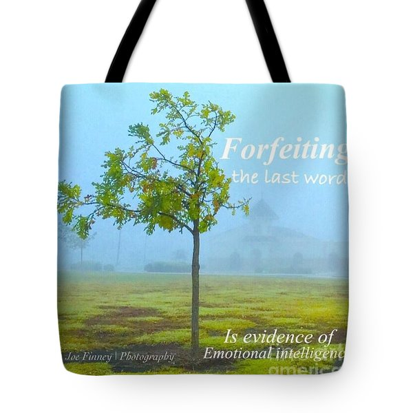 Forfeiting Last Word - No.2015 Tote Bag