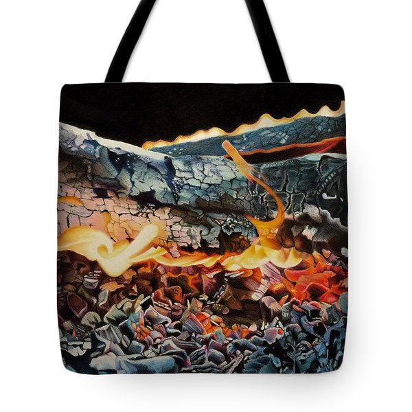 Forge Tote Bag by David Hoque