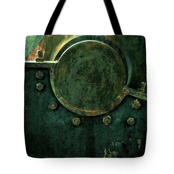 Forged In Green Tote Bag