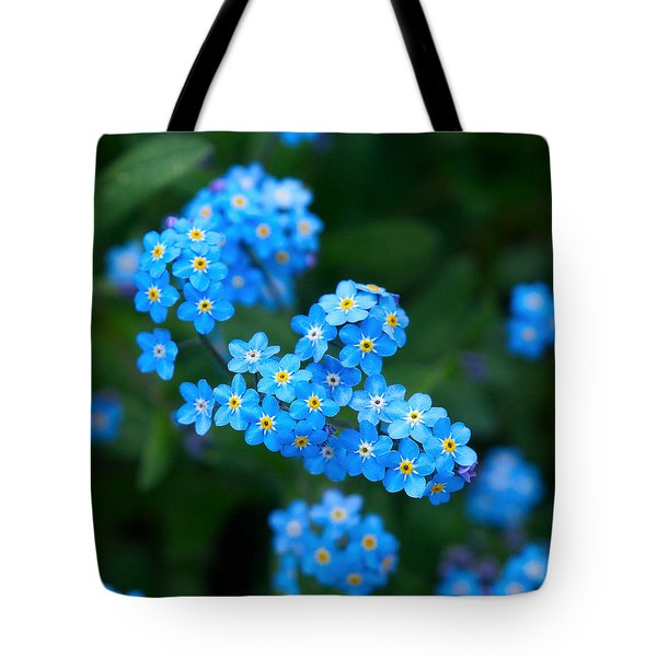 Forget -me-not 5 Tote Bag by Jouko Lehto