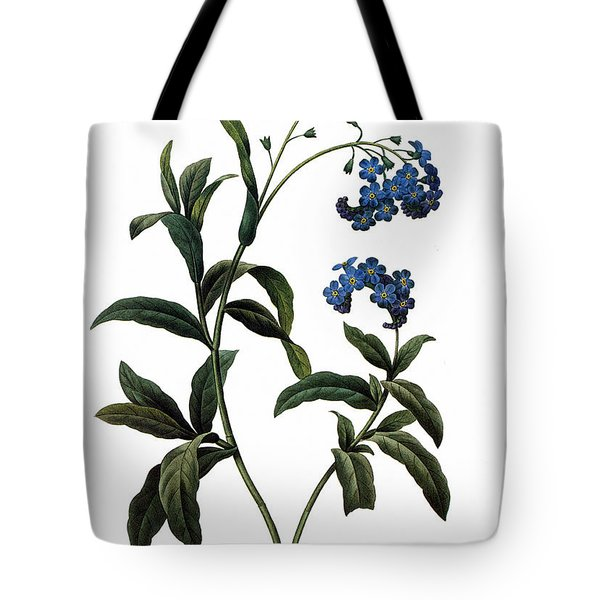Forget-me-not Tote Bag by Granger