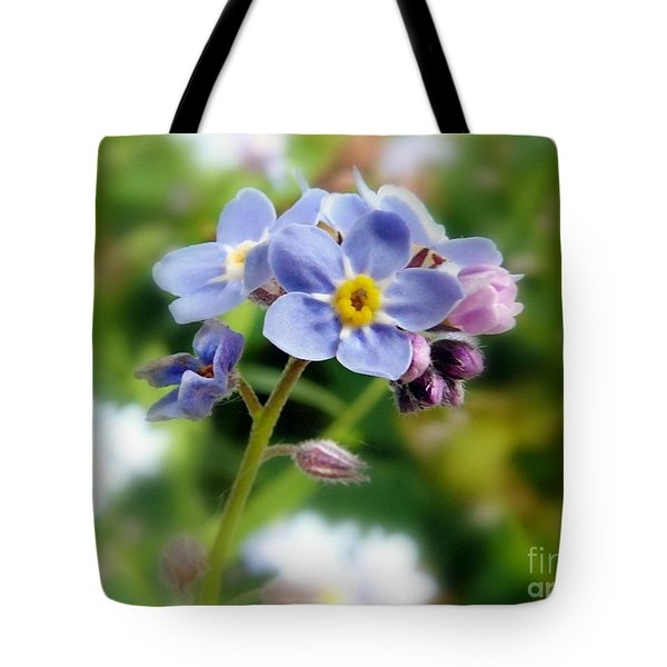 Forget-me-not Tote Bag