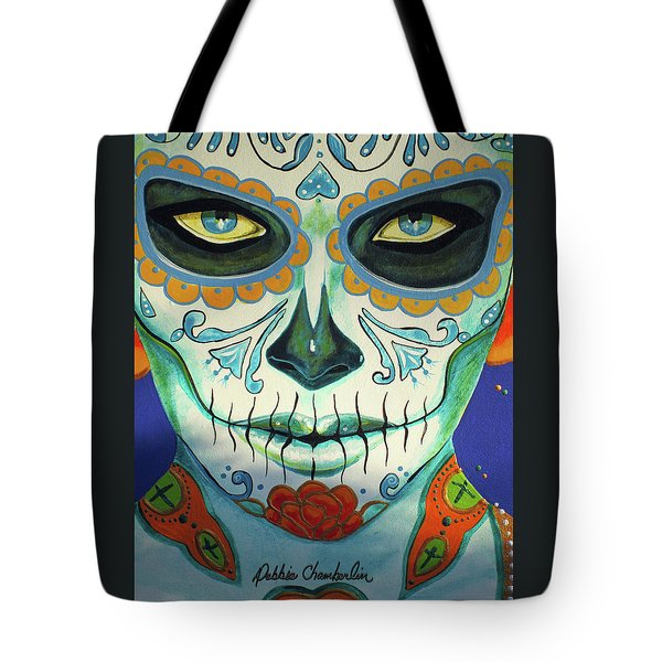 Forget Me Not Portrait 01 Tote Bag