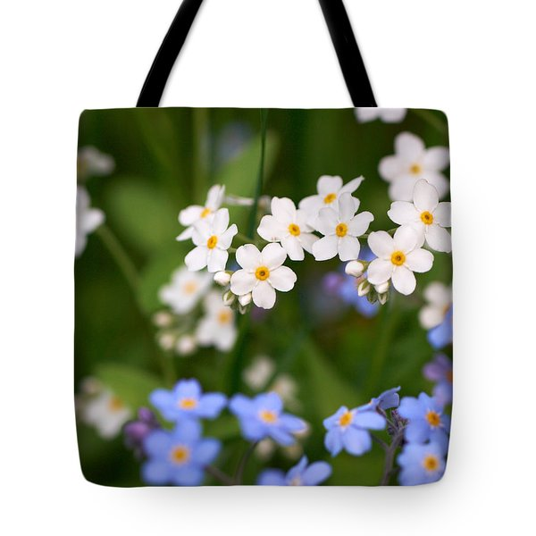 Forget Me Nots Tote Bag by Jouko Lehto