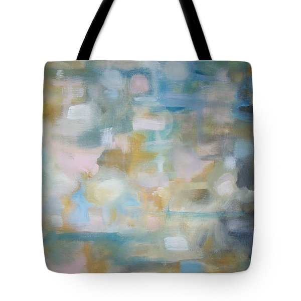 Tote Bag featuring the painting Forgetting The Past by Raymond Doward