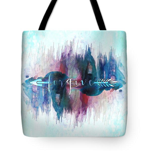 Forgive Arrow Tote Bag