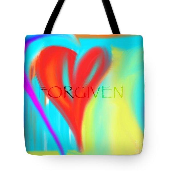 Forgiven Tote Bag