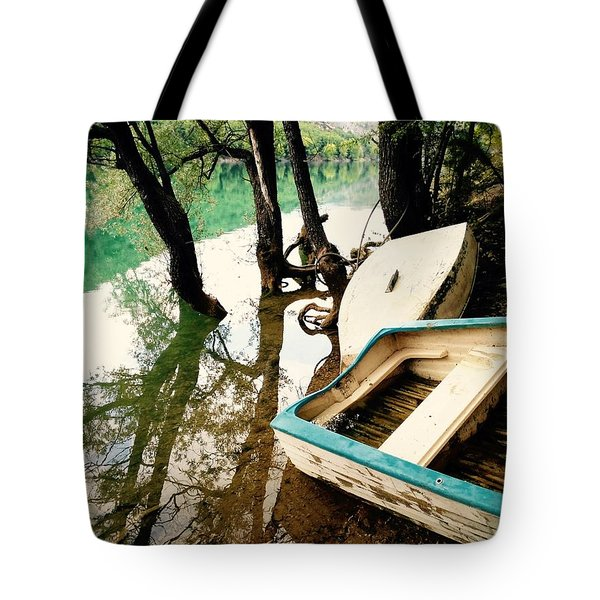 Forgotten Boats Tote Bag