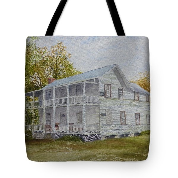 Tote Bag featuring the painting Forgotten By Time by Joel Deutsch