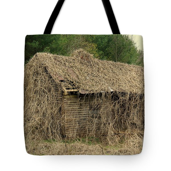 Forgotten Cabin Tote Bag