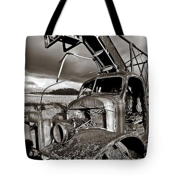 Forgotten Days Tote Bag