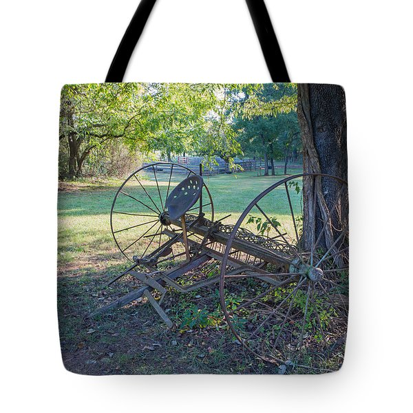 Forgotten Farm Tote Bag by Kevin McCarthy