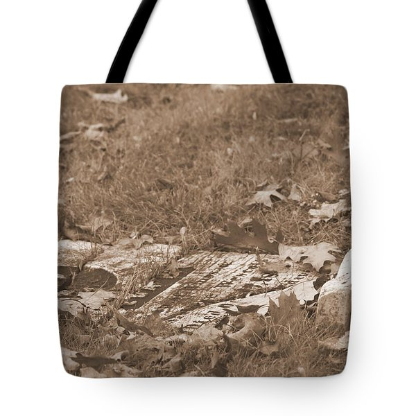 Tote Bag featuring the photograph Forgotten by Greg DeBeck