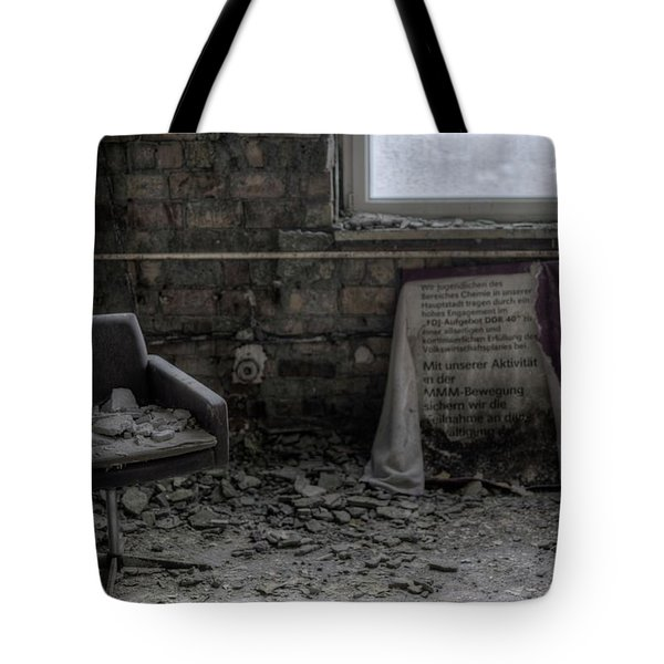 Forgotten Ideologies Tote Bag by Nathan Wright