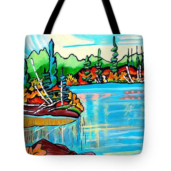 Forgotten Lake Tote Bag