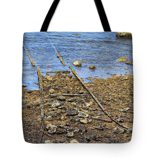 Tote Bag featuring the photograph Forgotten Line II by Stephen Mitchell