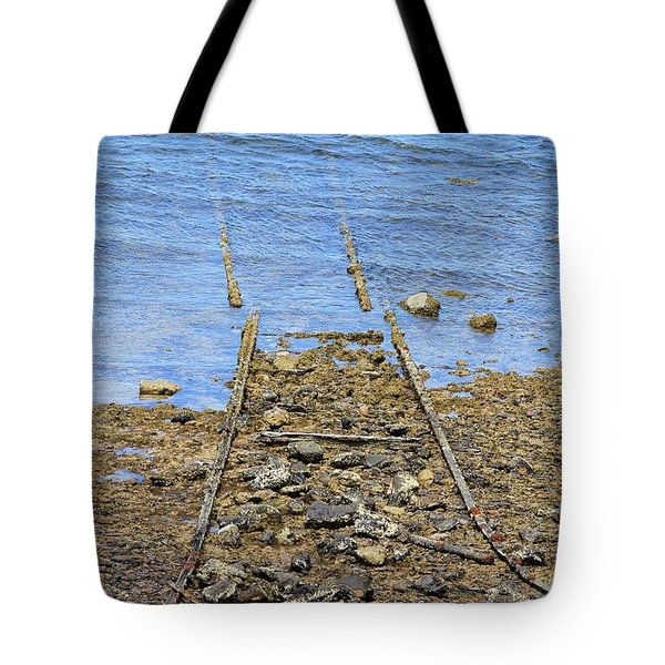 Forgotten Line Tote Bag by Stephen Mitchell