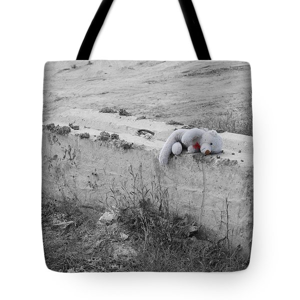 Tote Bag featuring the photograph Forgotten by Maggy Marsh