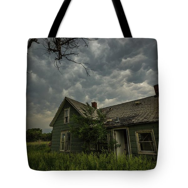 Tote Bag featuring the photograph Forgotten Mammatus  by Aaron J Groen