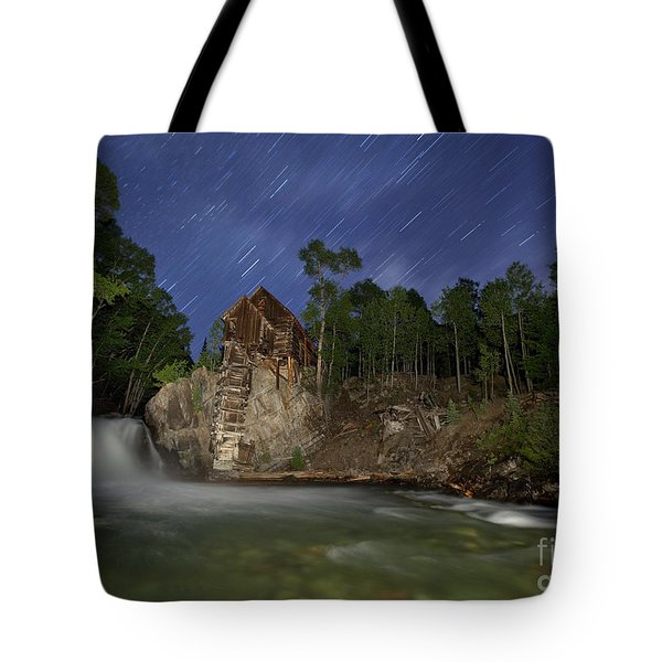 Tote Bag featuring the photograph Forgotten Mill by Keith Kapple