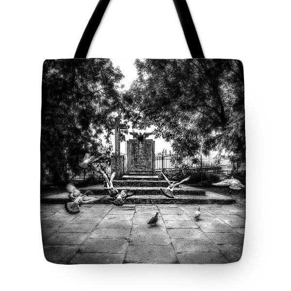 Forgotten Monument Tote Bag
