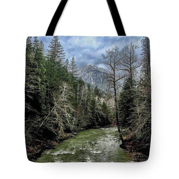 Forgotten Mountain Tote Bag