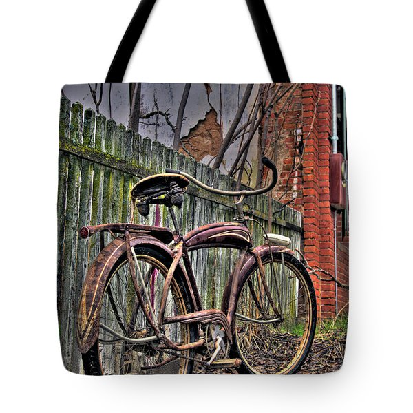 Tote Bag featuring the photograph Forgotten Ride 2 by Jim and Emily Bush