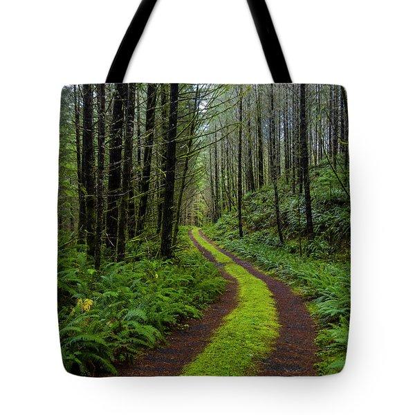 Forgotten Roads Tote Bag