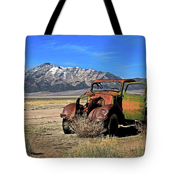 Tote Bag featuring the photograph Forgotten by Robert Bales