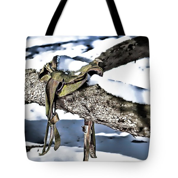 Forgotten Saddle Tote Bag