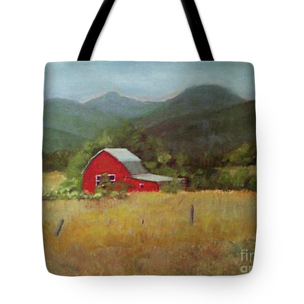 Forgotten Scene Tote Bag