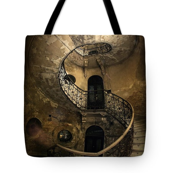 Forgotten Staircase Tote Bag