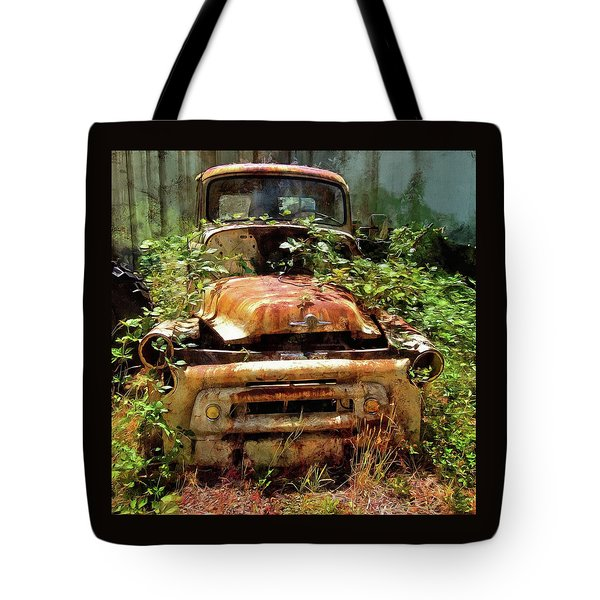 Tote Bag featuring the photograph Forgotten by Thom Zehrfeld