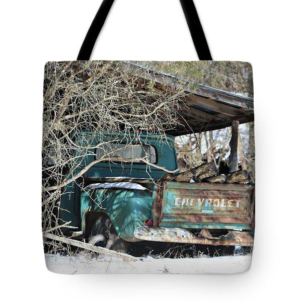 Forgotten Truck Tote Bag