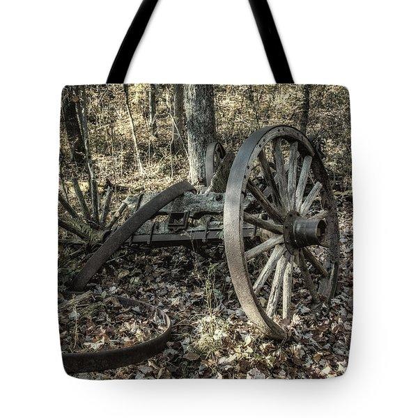 Forgotten Wagon Tote Bag