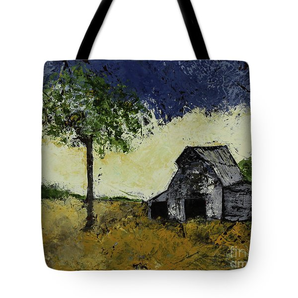 Forgotten Yesterday Tote Bag