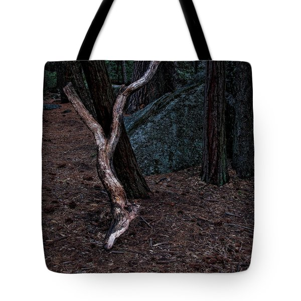 Fork Tote Bag by Jerry Golab